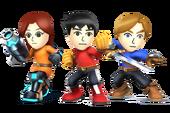 Guerriero Mii Artwork - Super Smash Bros. per Nintendo 3DS e Wii U