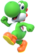 Yoshi Artwork - Mario Party 10