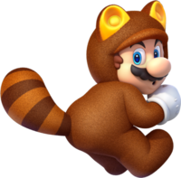 Mario Tanooki - Super Mario 3D World