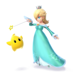 Artwork Rosalinda Super Smash Bros. Wii U ombra