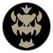 Emblema Skelobowser Mario Kart 8