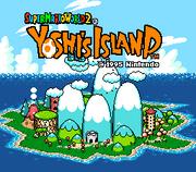 Isola Yoshi Screenshot - Super Mario World 2 Yoshi's Island