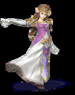 Zelda Artwork - Super Smash Bros. per Nintendo 3DS e Wii U