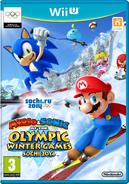 Mario & Sonic ai Giochi Olimpici Invernali di Sochi 2014 - Boxart Eur