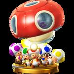 Truppa Toad Trofeo - Super Smash Bros. per Wii U