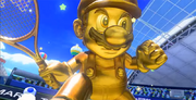 MarioTennisUltraSmash Mario dorato