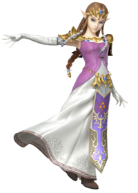 Principessa Zelda Smash Bros 4