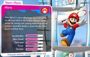 Mario Profilo ufficiale (EN) - Mario & Sonic ai Giochi Olimpici di Londra 2012