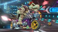 Skelobowser Mario Kart 8 screen 2