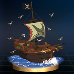 SSBB Trophy 226 Pirate Ship