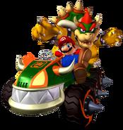Mario & Bowser - MKDD