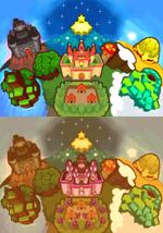 Regno dei funghi in Mario e Luigi- Fratelli nel Tempo