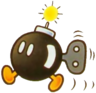 Bob-omb Artwork - Super Mario Bros. 2