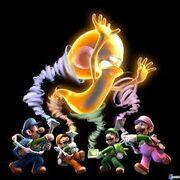Luigi mansion multy