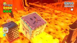 Vallemagma dei rimbomblocchi Screenshot - SM3DW