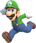 Luigi - Super Mario 3D World