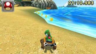 Mario Kart 7 - N64 Koopa Troopa Beach