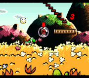 Bolla Screenshot - Super Mario World 2 Yoshi's Island