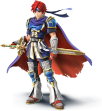 Roy Artwork - Super Smash Bros. per Nintendo 3DS e Wii U