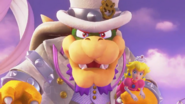 Bowser e Peach Screenshot - Super Mario Odyssey