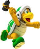 Martelkoopa Artwork - Mario Party 8