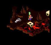 Mario trova una Moneta Rana