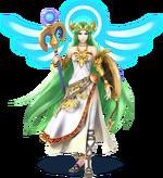 Palutena Artwork - Super Smash Bros. per Nintendo 3DS e Wii U