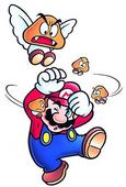 Goomba Volante e Mini Goomba - Super Mario Bros. 3