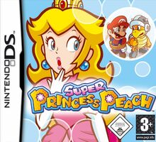 Super Princess Peach - Boxart EUR