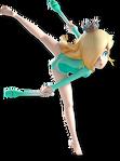 Artwork Rosalinda Mario & Sonic ai Giochi Olimpici di Rio 2016 Ginnastica Ritmica