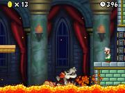 Skelobowser New Super Mario Bros. mondo 1