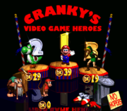 Supereroi dei Videogiochi di Cranky Screenshot - Donkey Kong Counrty 2 Diddy's Kong Quest