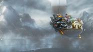Aeronave dei Conigli Screenshot - Super Mario Odyssey