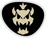 Emblema Skelobowser Mario & Sonic ai Giochi Olimpici di Rio 2016
