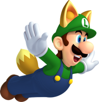 464px-Raccoon Luigi - New Super Mario Bros 2