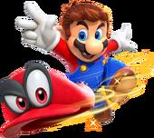 Mario Cappy (lancio) Artwork - Super Mario Odyssey