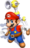Mario, SPLAC 3000 Artwork - Super Mario Sunshine