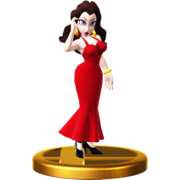 Pauline Trophy-Super Smash Bros