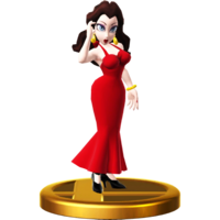 Pauline Trophy-Super Smash Bros