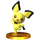 Trofeo 3DS Pichu