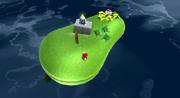 Galassia Uovo (Pianeta fagiolo) Screenshot - Super Mario Galaxy