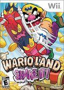 Wario land shake it! boxart