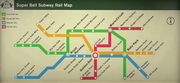 Mappa Metropolitana - Mario Kart 8