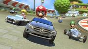 Mario Kart 8 - Mercedes-Benz DLC