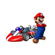 Kart Standard Mario MKW