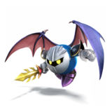 Meta Knight Artwork - Super Smash Bros. per Nintendo 3DS e Wii U