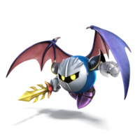 Meta Knight Artwork - Super Smash Bros. per Nintendo 3DS e Wii U