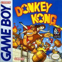 Donkey Kong (Game Boy) - Boxart EUR