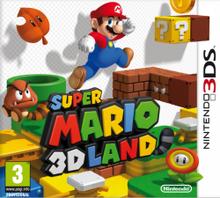 Super Mario 3D Land - Boxart EUR