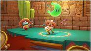 Mario (vestiti da messicano) suona la chitarra Screenshot - Super Mario Odyssey